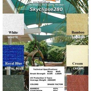 Photo of Fabric Samples Skyclipse280 – Shade Sails LLC