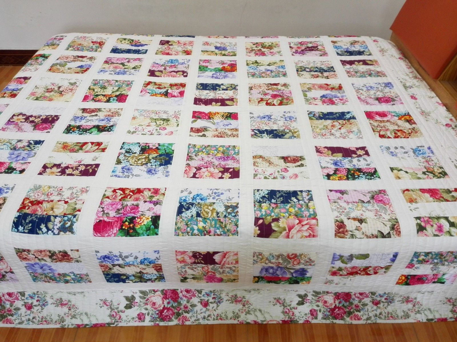 quilt floral of bed full quilts sets quilted coverlet size coverlets comforters bedding cotton bedspread and queen king