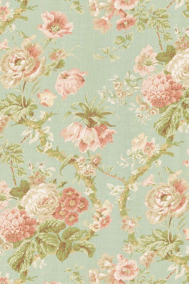 floral background Vintage floral wallpapers, Victorian