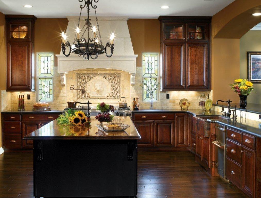 Kemper Maple Kitchen Cabinets | Kitchen design ideas dark ...