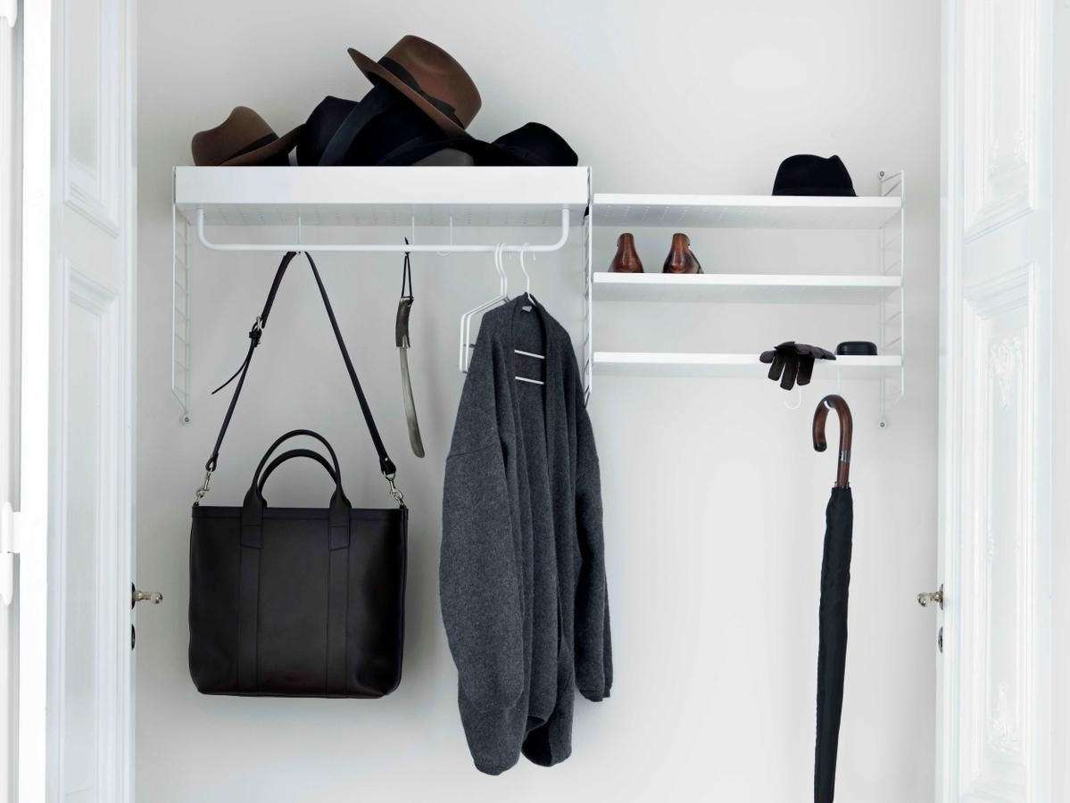Eckregal Bambus Bad String System Garderobe Skandinavisches Design Pinterest