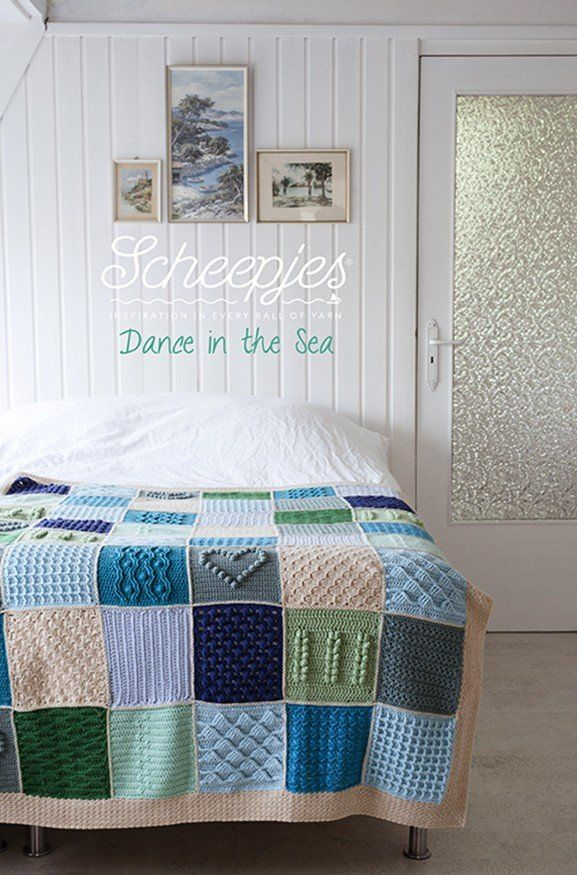 Scheepjes Colour Crafter Basic Last Dance in the Sea CAL Colour Pack | Deramores