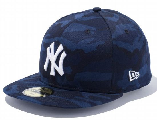Navy Tiger Camo New York Yankees 59Fifty Fitted Cap by NEW ERA x MLB ... a915c13a692