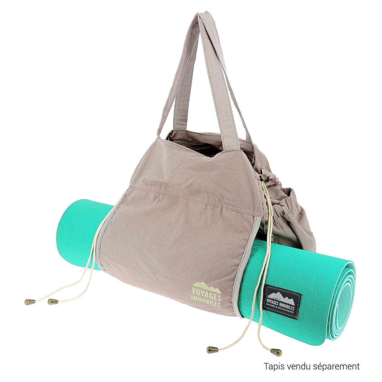 epingle sur sac tapis de gym