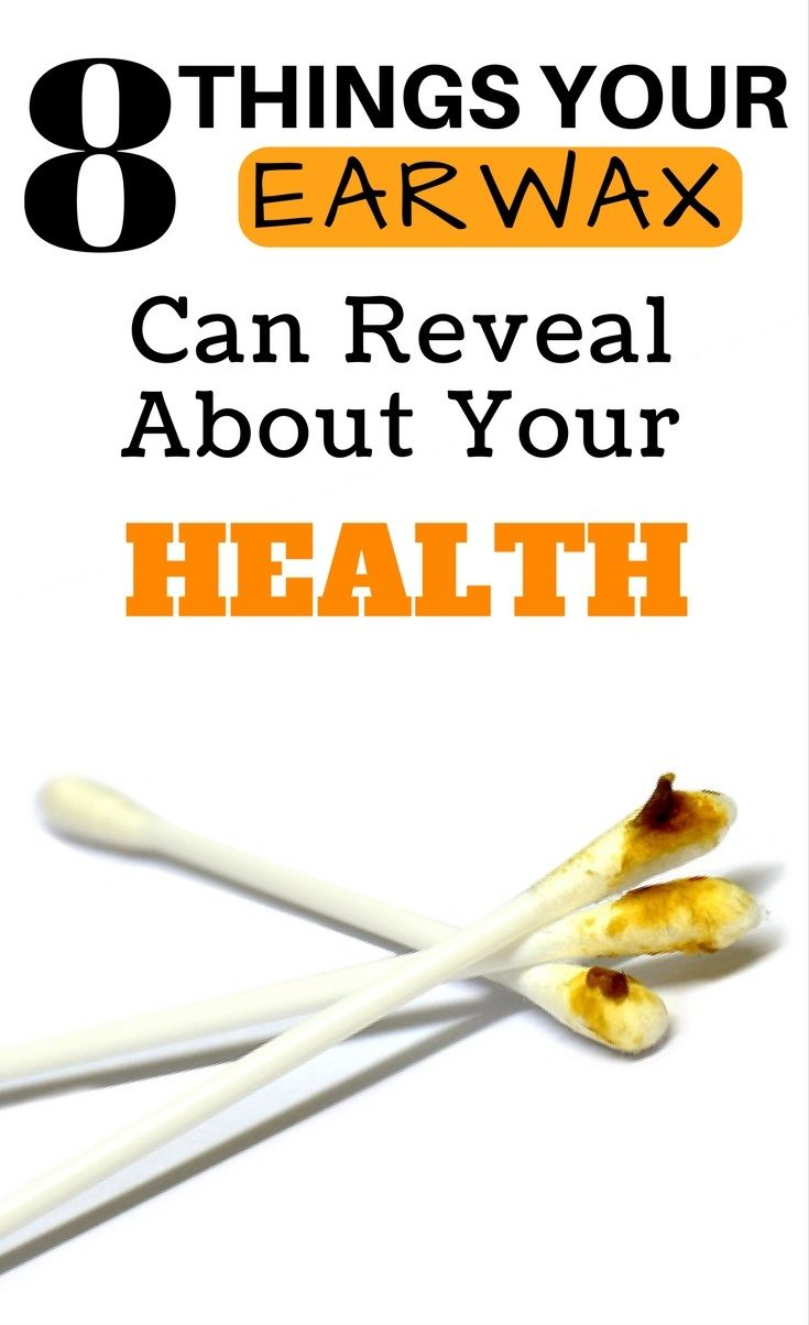 8 Things Your Earwax Could Reveal About Your Health - Healthy Lifestyle