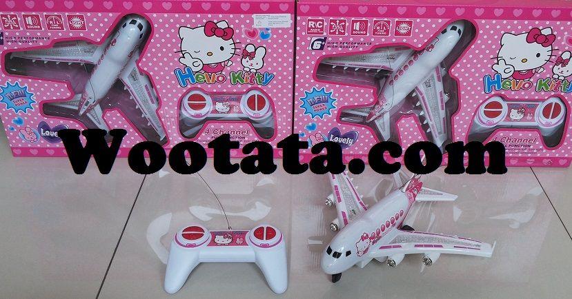 Mainan Pesawat Remote Control Hello Kitty Murah Mainan Remote Control Hello Kitty Mainan Anak