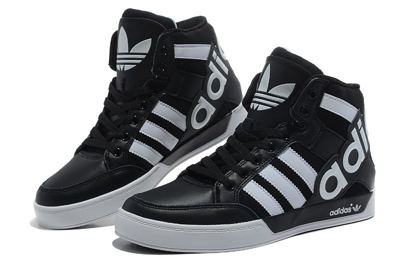 Fashion Large Discount Black White Adidas Originals City Love leather  Generations High Top Shoes Women Sport