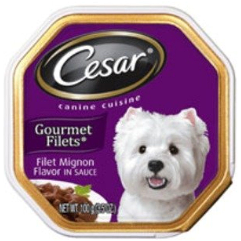Cesar Gourmet Filets Filet Mignon Canine Cuisine You Can Check