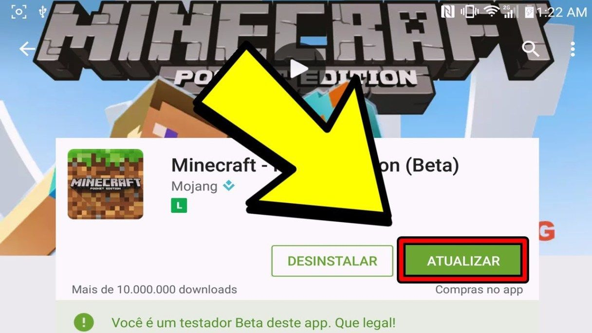 Download Minecraft 1.2.8 (Bedrock) baixar minecraft pe 1