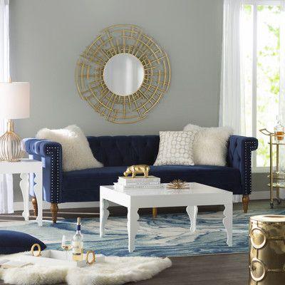 Customer Image Zoomed Blue Sofas Living Room Gold Living Room Blue Sofa Living