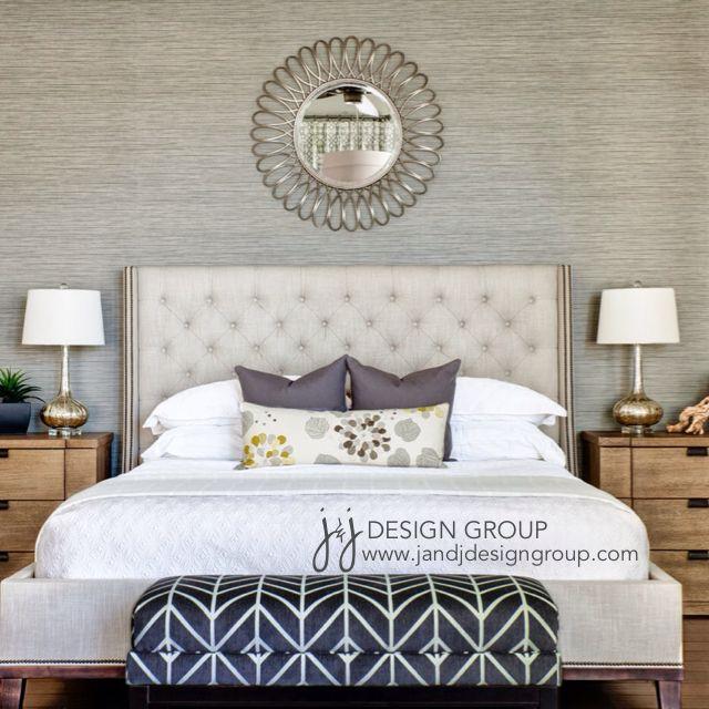 Grasscloth Wallpaper For Master Bedroom Dormitorios Principales Ideas Decoracion Dormitorios Dormitorios