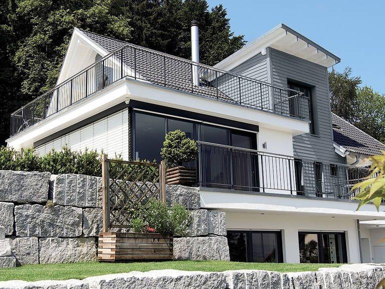 Einfamilienhaus mit Hanglage WeberHaus in 2020 Haus