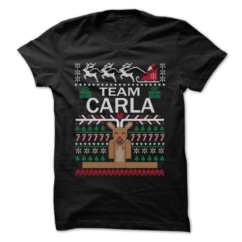 Team CARLA Chistmas - Chistmas Team Shirt !