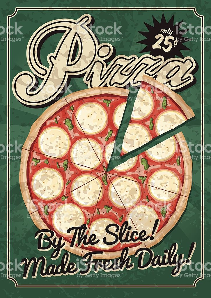 A Vintage Styled Restaurant Theme Poster Grunge Texture Is
