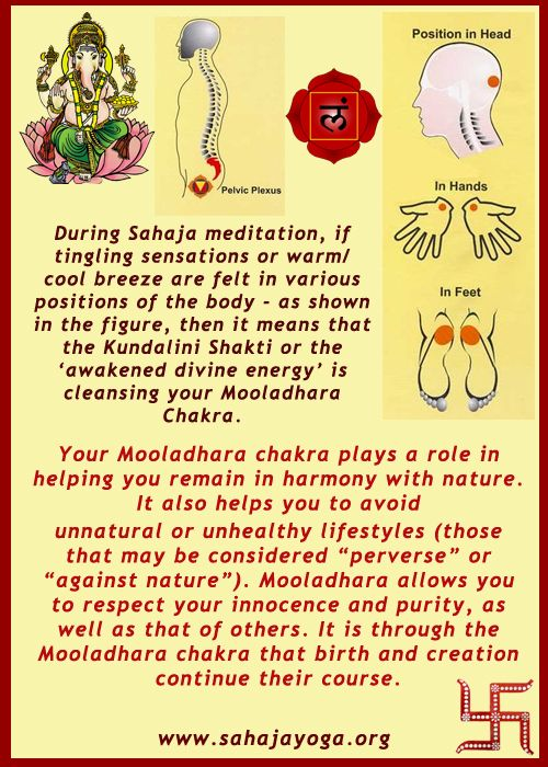 Meditation on the Root Chakra - how you decipher blocks and