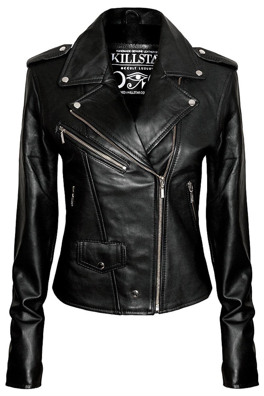 Morgue Bare Yer Bonez Luxe A Grade Vegan Leather Digital Bone Prints Zipped Front Li Fitted Biker Jacket Leather Jackets Women Vegan Leather Jacket [ 1500 x 1000 Pixel ]