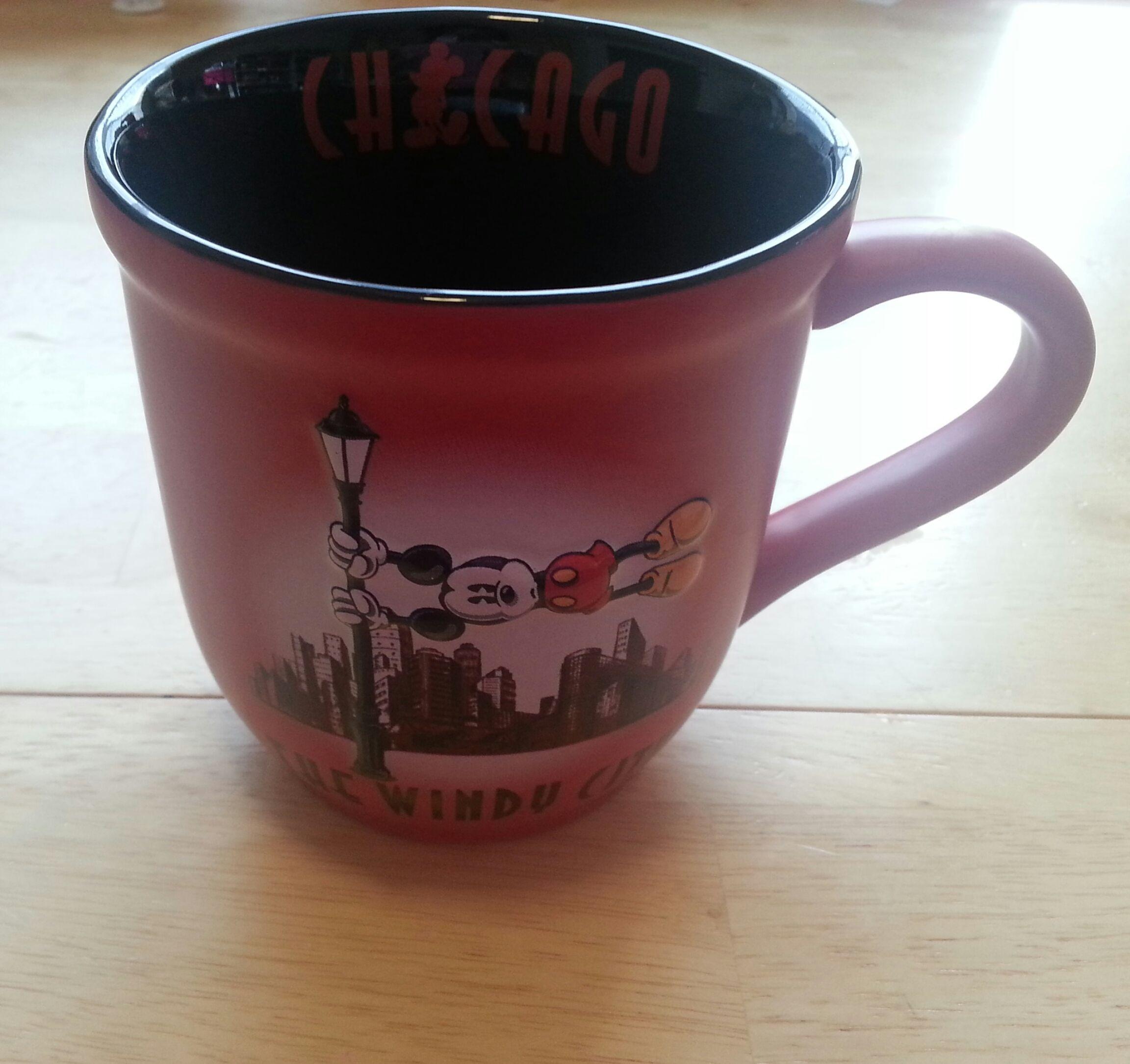 It's no just a simple mug.  #Disney #Chicago #Tea #WindyCity