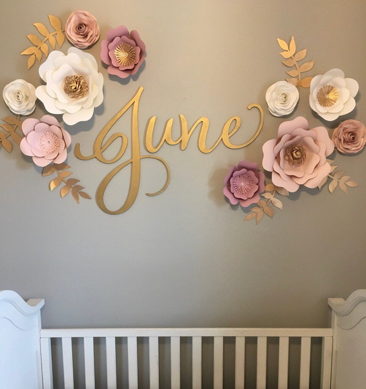 Wooden Name Sign Nursery Name Sign Nursery Decor Sign For  Etsy