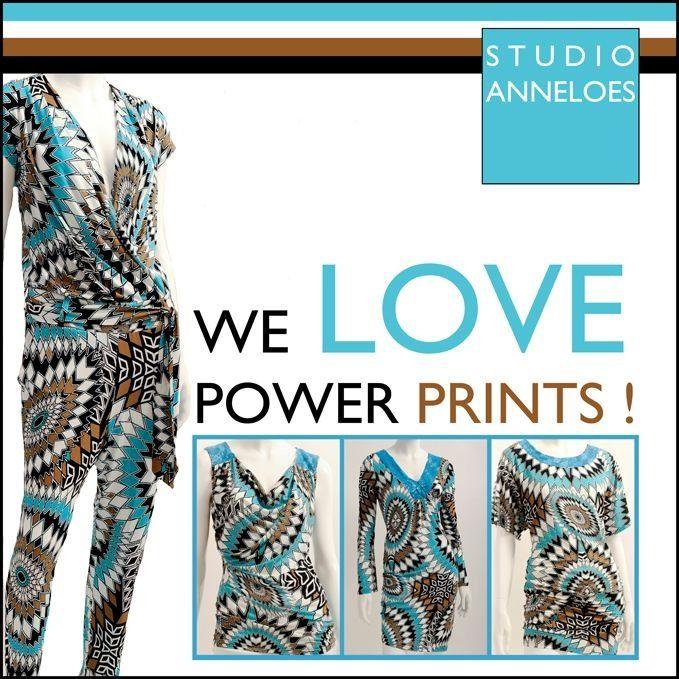 We love power prints www.studioanneloes.nl