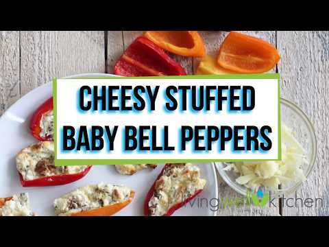 Cheesy Stuffed Baby Bell Peppers Are An Irresistible Appetizer Of Spicy Cream Cheese Stuffed Mini Peppers In 2020 Stuffed Peppers Stuffed Bell Peppers Best Appetizers