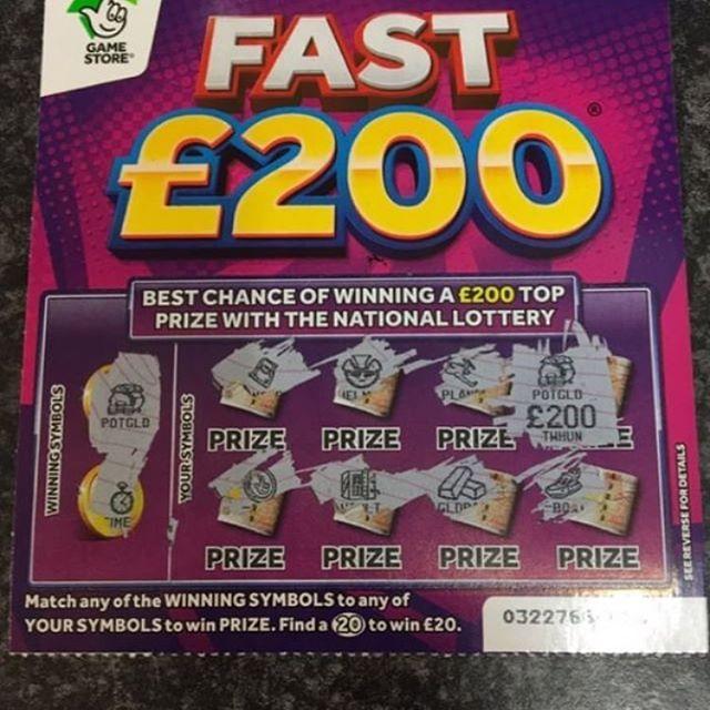 Pin on UK Scratchcard Winners