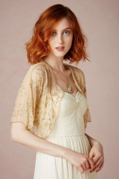Petal-Strewn Cover Up - Wedding Accessories by BHLDN - Loverly