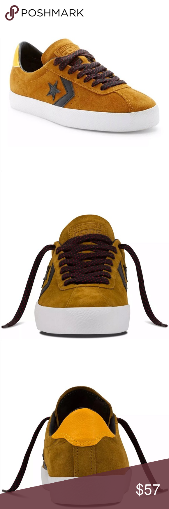 1064a9d56963 Men s Converse Cons Break Point Suede Skate Shoes NEW IN OPEN TOP ...