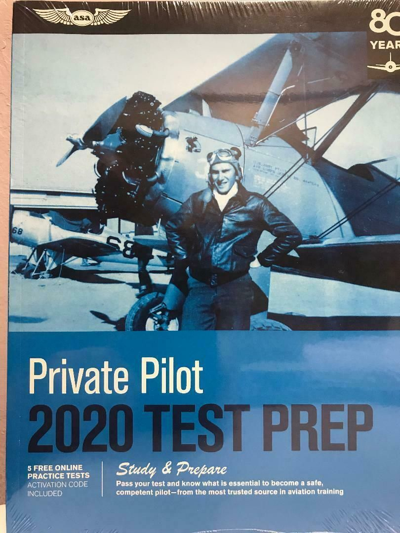 ASA, 2020 Private Pilot Test Prep, p/n ASA-TP-P-20