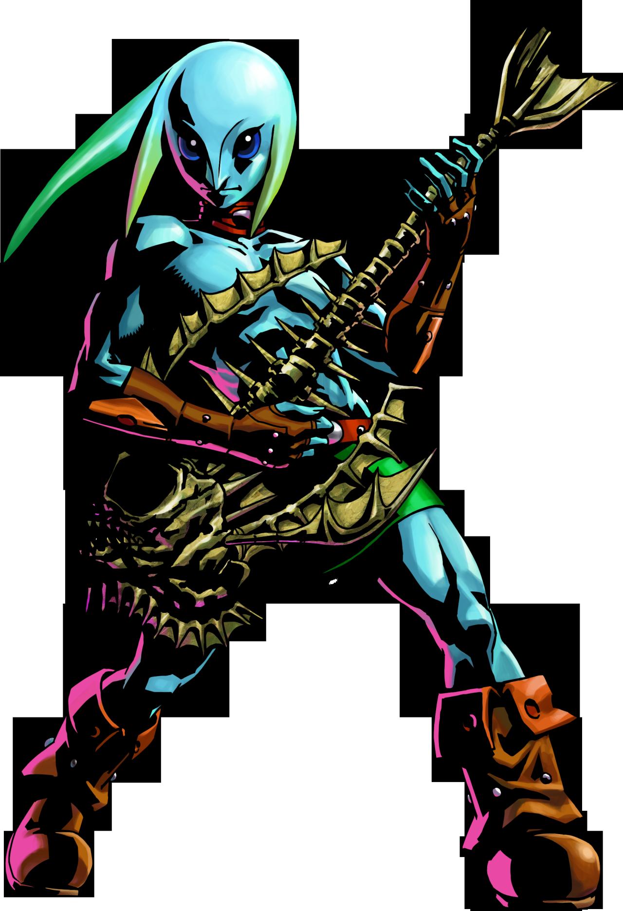Majoras Mask 3D Official Art of Zora Link Call me weird but