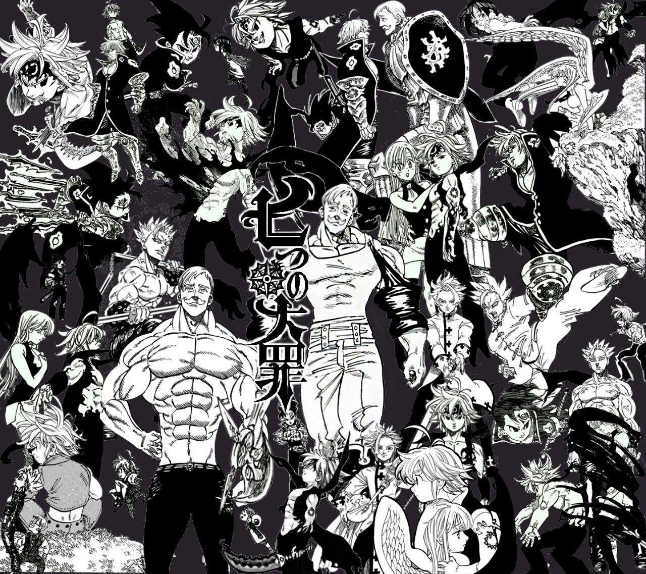 Nanatsu No Taizai Seven Deadly Sins Sete Pecados Capitais Meliodas