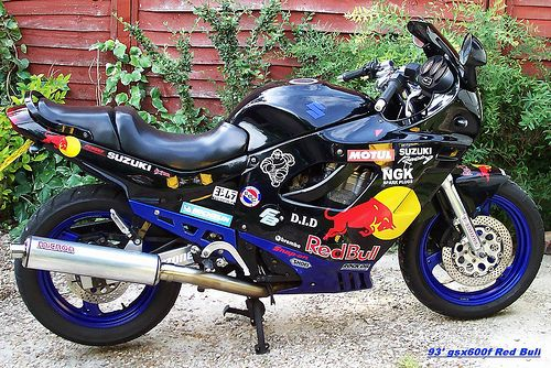 Suzuki gsx600f 1993 | Denise & Rick | Flickr