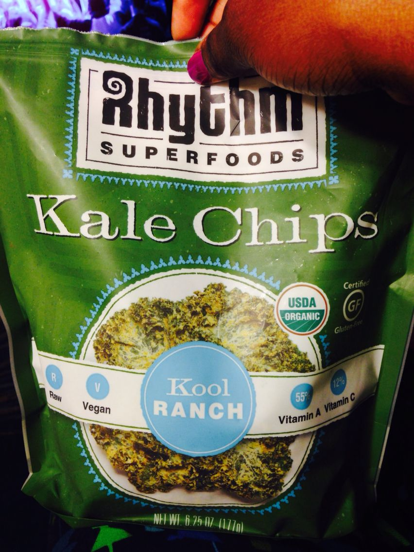 Yummer flavored kale chip sold in Costco | Healthy eats