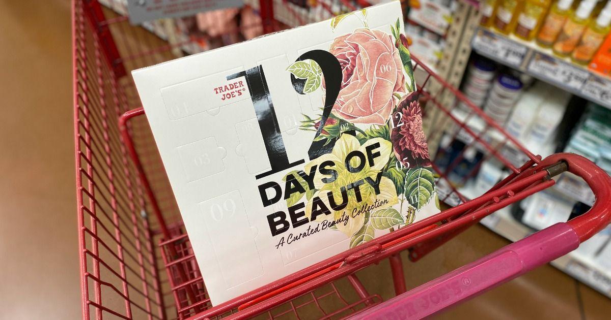 Trader Joe 12 Days of Beauty Advent Calendar Trader joes