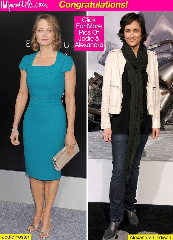 Jodie Foster Girlfriend 2012