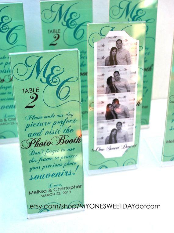 Photo Booth Acrylic Frames Party Favor Spring Wedding Ideas Photo