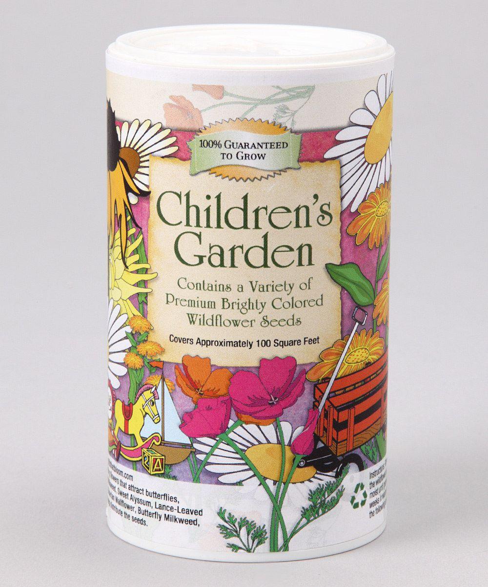 gifts that bloom children's garden shaker | gardens, children and