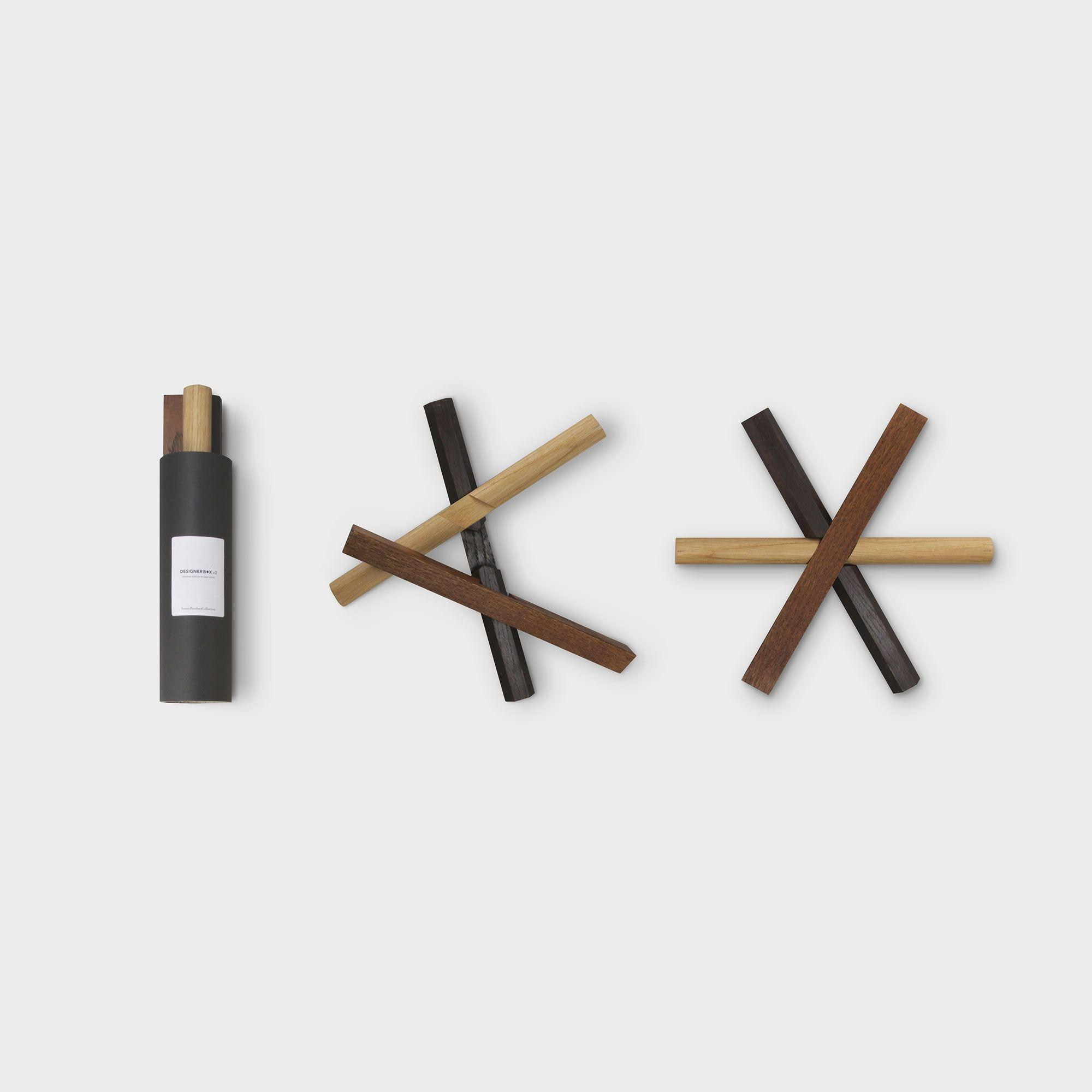 Pour designerbox le designer Dan Yeffet a imaginé un dessous de plat ...