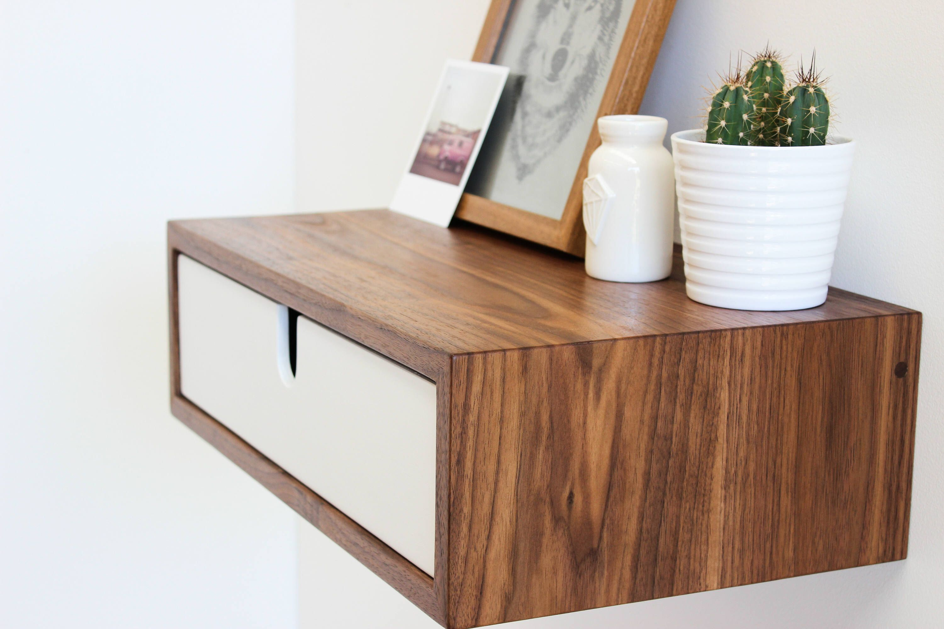Floating Nightstand Bedside Table By Imagofurniture On Etsy Httpswwwetsy