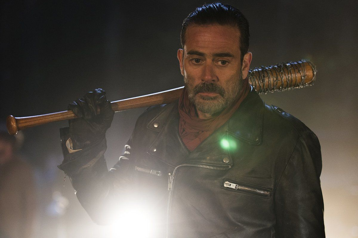 """#TWD's infamously foul-mouthed baddie #Negan's """"F-Bomb"""" count for season six Blu-ray dubbing is pretty impressive."""