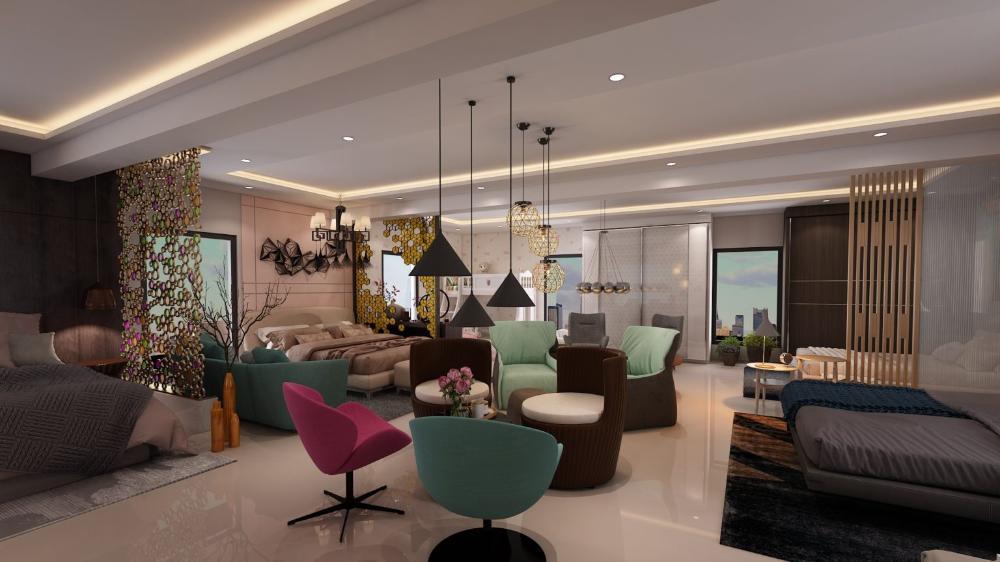 4TH FLOOR_04 in 2020 Interior designers in hyderabad