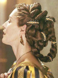 hairstyle proserpina renaissance