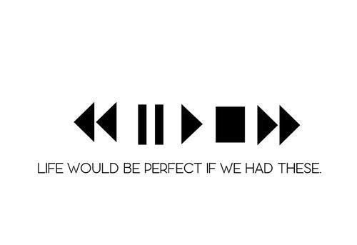 If You Got The Chance Which Button Would You Choose To Press Backward Pause Play Stop Forward Hinh Xăm