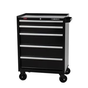 Husky 27 In W 5 Drawer Cabinet H5tr2 At The Home Depot Tool Cabinet Tool Storage Wood Storage Cabinets