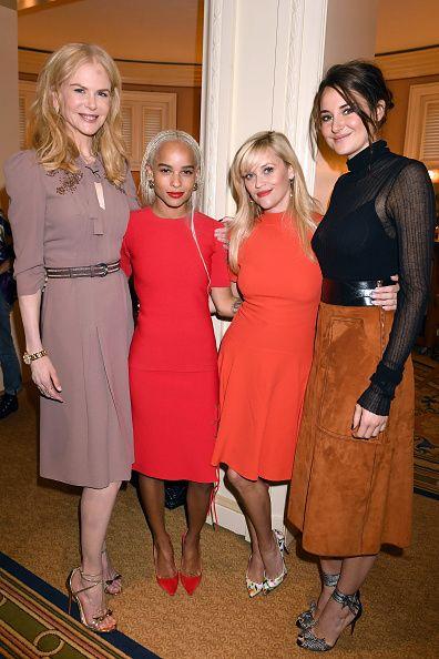 Producer Actress Nicole Kidman Actress Zoe Kravitz Producer