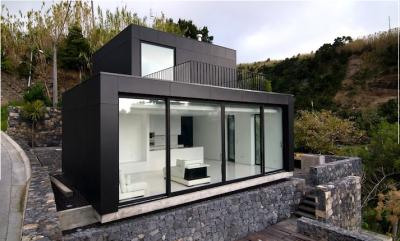 Casa ecologica con energia solar que emerge sobre el sol - Casas prefabricadas ecologicas ...