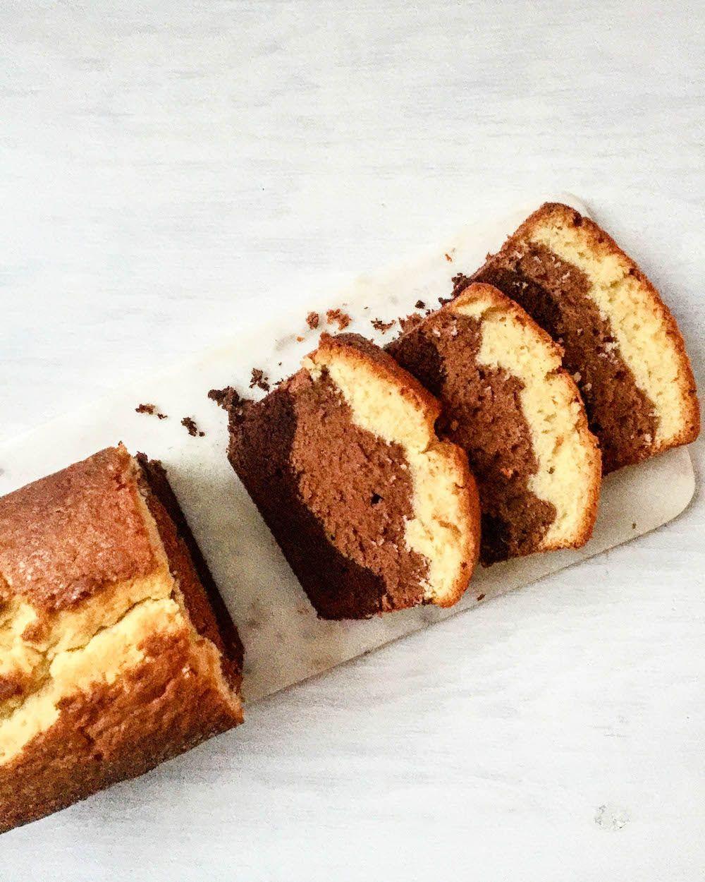 Martha Stewart S Triple Layer Poundcake Recipe Martha Stewart Recipes Baking Pound Cake Recipes
