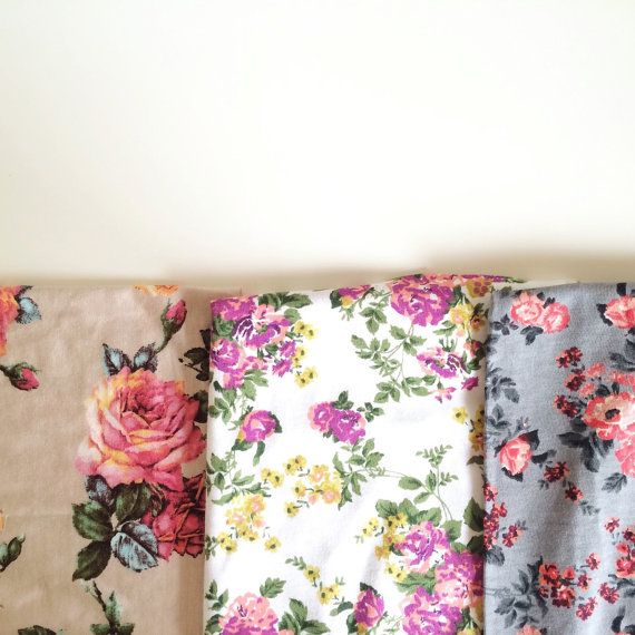 Baby Swaddle Blanket - Floral Swaddle and Beanie Bundle, Print of Your Choice