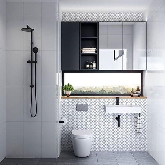 The Perfect Compact Bathroom With A View  Bathrooms  Pinterest Impressive Bathroom Design Australia Inspiration