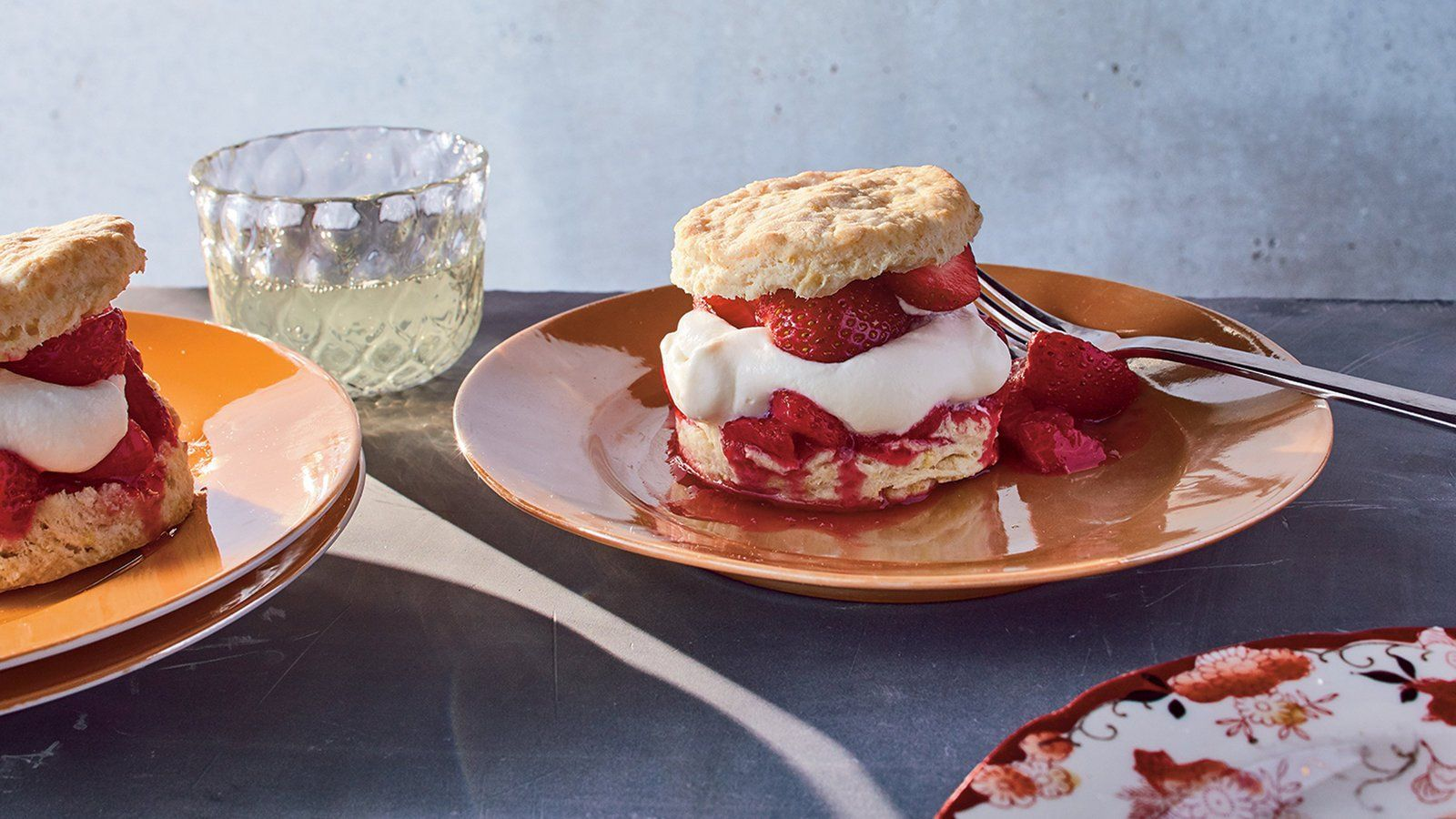 Buttermilk Biscuit Shortcakes With Strawberries Recipe Strawberry Recipes Buttermilk Biscuits Food Recipes