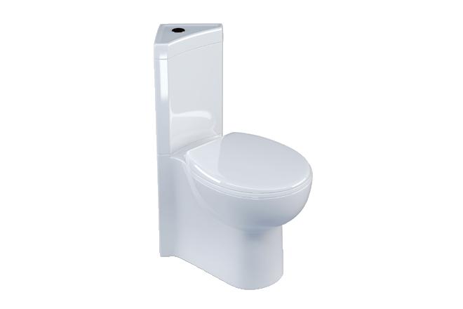 Metro Compact Corner Toilet V30121055ph Front Angle Rectangle Medium Corner Toilet Toilet Wall Hung Toilet